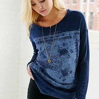 Project Social T Filigree Crew-Neck Top - Urban Outfitters