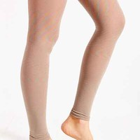 Footless Shimmer Tight - Urban Outfitters