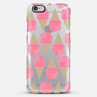Strawberry Ice Cream iPhone 6 Plus case by Allyson Johnson | Casetify