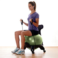 Balance Ball Chair, Ergonomic Exercise Ball Chairs - Gaiam