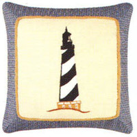 Lighthouse Throw Pillow | Atlantic Linens