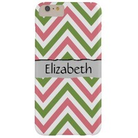 Your Name - Zigzag (Chevron), Lines - Green Pink