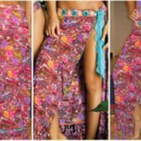Adventure Wrap Skirt by Paradizia 5020/Adven