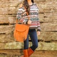 Fifty Shades Of Fall Sweater
