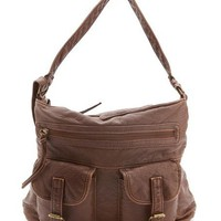 Double Pocket Satchel Bag: Charlotte Russe