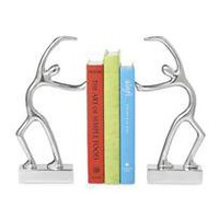 swing bookends - a modern, contemporary set of bookends from chiasso