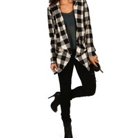 Black Bundle Up Jacket
