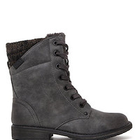 Roxy Geneva Sweater Lace Up Boots at PacSun.com