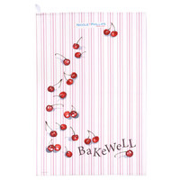 Cherry Bakewell Tea Towel