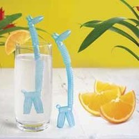 GIRAFFE REUSABLE STRAWS