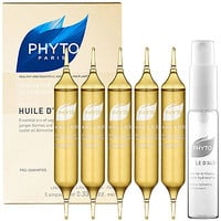 Phyto Huile D'Alès Dry Hair Intense Hydrating Oil Treatment (5 x 0.33 oz Ampoules)