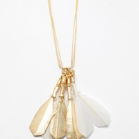 NeedSupply.com / Mirit Weinstock / 8 Feathers Neckpiece
