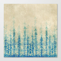 Winter Woods  Canvas Print by rskinner1122