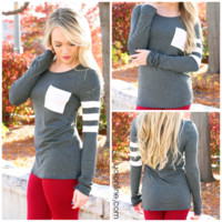The Tailgating Top - Charcoal - CHARCOAL /