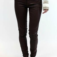 Mya Skinny in Ox Blood | Articles of Society