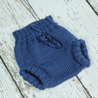 Knitted Wool Soakers(nappy Cover)- .. on Luulla