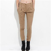 La Dama ? Lonely Hearts Single Pleat Wool Pants