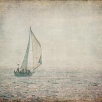 Sailing on Lake Michigan Fine Art Photography South Haven MI Picture Nautical Art Print Lake House Decor Beach House Wall Art Midwest Life