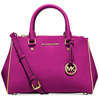 MICHAEL Michael Kors Specchio Sutton Small Satchel