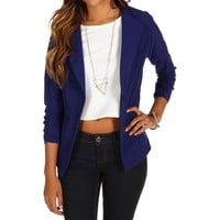 promo-royal no collar boyfriend blazer
