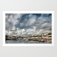 Mevagissey Cornwall Art Print by  Alexia Miles photography