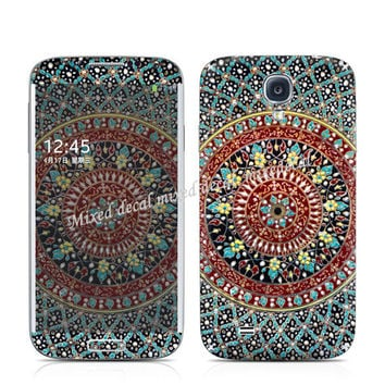 Samsung Galaxy S4 skin - Flower Personalized Cell Phone decal - Galaxy S4 sticker skin - S3 decal sticker