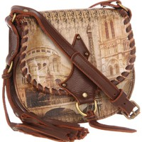 Icon Handbags Mocha-2 Cross Body - designer shoes, handbags, jewelry, watches, and fashion accessories | endless.com