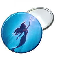 Mirror - Disney Little Mermaid Swimming Image 2.25""