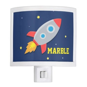 Rocket Ship, Outer Space, For Kids Room
