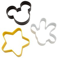 Disney Best of Mickey Mouse Cookie Cutter Set -- 3-Pc. | Disney Store