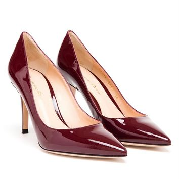 GIANVITO ROSSI   Pointed Leather Pumps   Browns fashion & designer clothes & clothing