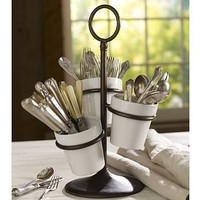 Rhodes Utencil Caddy | Pottery Barn