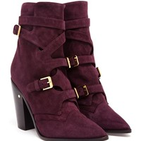 LAURENCE DACADE | Gregoria Suede Buckled Boot | Browns fashion & designer clothes & clothing