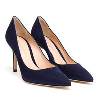 GIANVITO ROSSI | Pointed Suede Pumps | Browns fashion & designer clothes & clothing