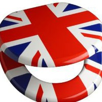 Union Jack Toilet Seat - Union Jack Shop - Union Jack Clothing Union Jack Flag