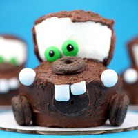 Party Ideas / Mater Cupcakes ? Disney Cars Theme « kids party themes, birthday party ideas, p