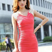HEGO Sexy V-Neck Dress FG002R