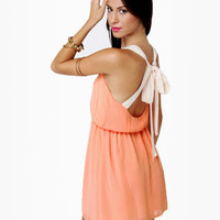 Honey Dipper Peach Dress