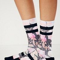 Stance Womens Game Time Crew Sock - Multi One
