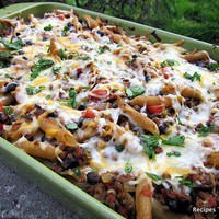 baked mexican penne