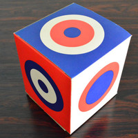 Collectible Marimekko Box with Bullseye Design