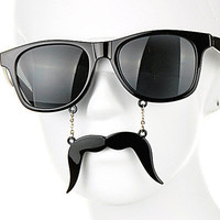 Black Mustache Sunglasses