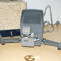 Vintage Rondo 8mm Movie Editor with Case