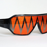 Macho Man Sunglasses - Jack O' lantern