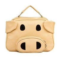 2Way Pig Shaped Shoulder Bag