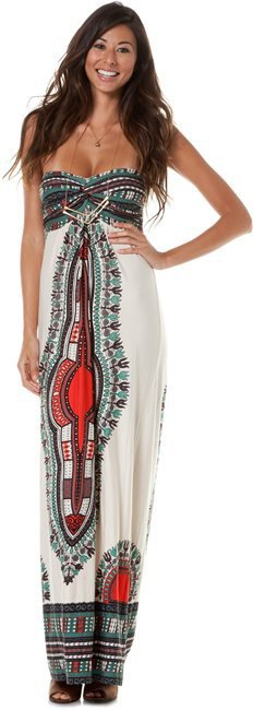 ANGIE KNIT MAXI TAPESTRY DRESS | Swell.com