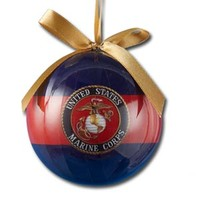U.S. Marines Decoupage Ornament