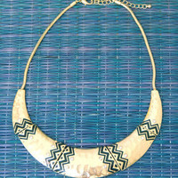 Arizona Tribal Cuff Necklace -  $20.00 | Daily Chic Accessories | International Shipping