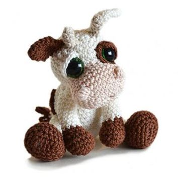 Buy Mable the Cow amigurumi pattern - AmigurumiPatterns.net