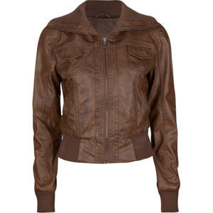 FULL TILT Faux Leather Womens Bomber Jacket 198101406 | Jackets | Tillys.com
